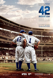 42 Jackie Robinson Movie Poster