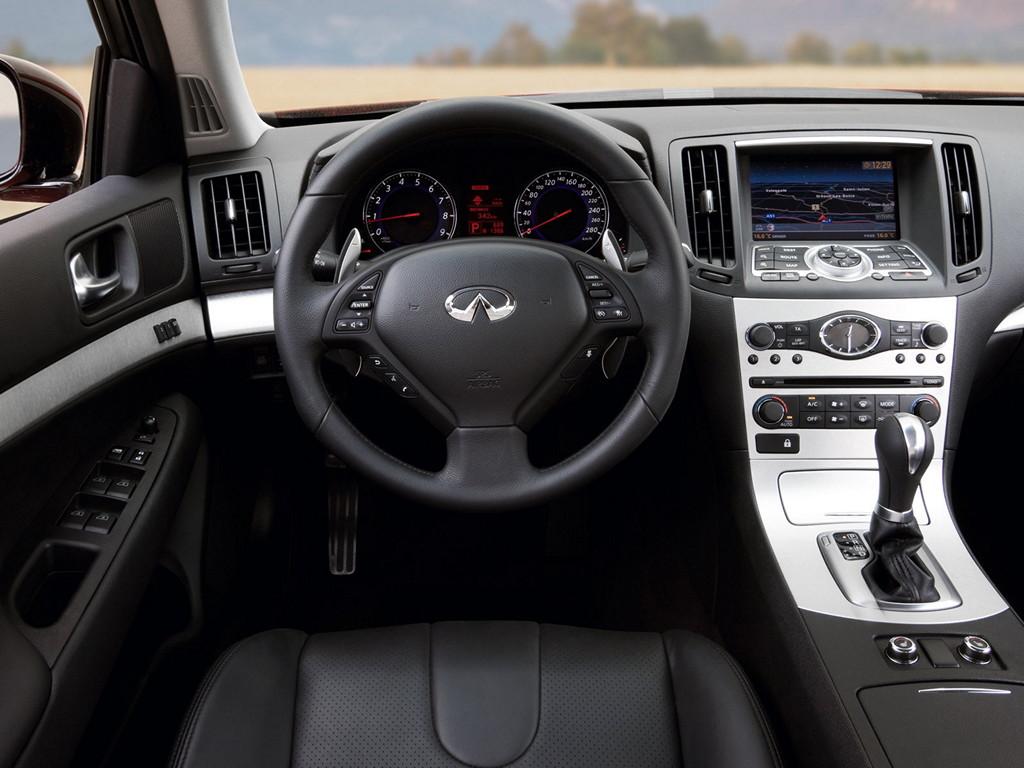 Nissan Skyline CV36, Infiniti G37 coupe, japońskie sportowe coupe, V6, RWD, wnętrze