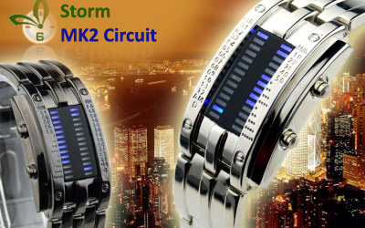 LED Watch Storm MK2 Circuit