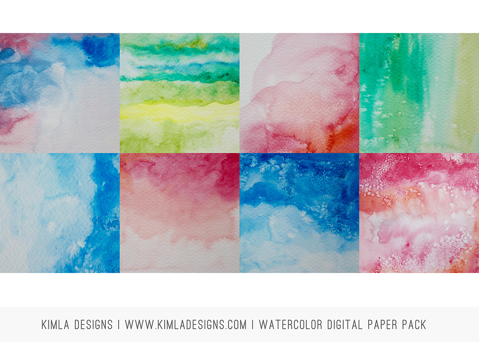 http://kimladesigns.com/collections/design-elements/products/digital-paper-pack-watercolor-vol1