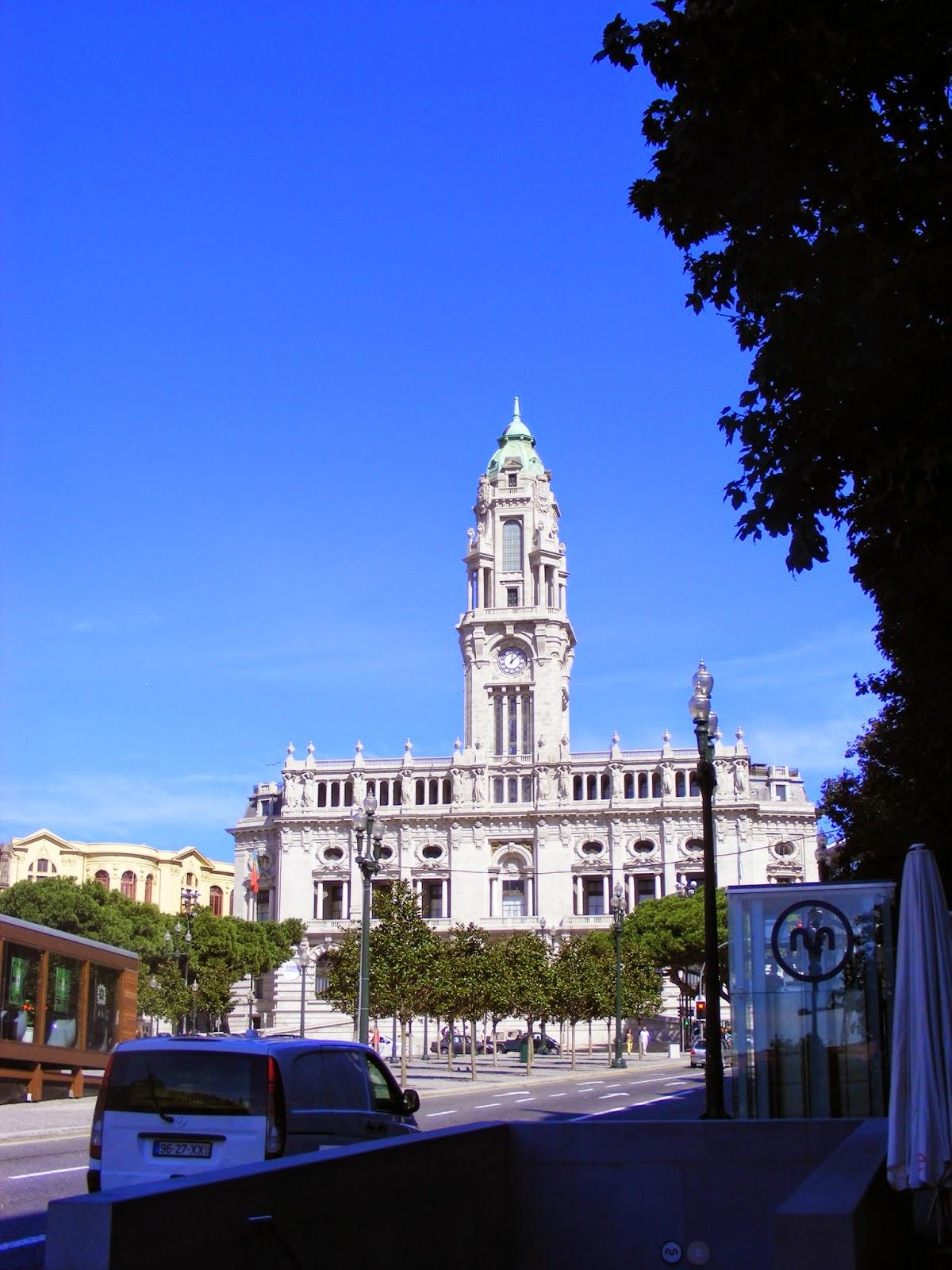 City Hall in Porto