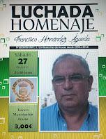 Luchada homenaje en Arucas  Francisco Hernández Águeda