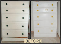 Fix up thrifted furniture with paint and hardware