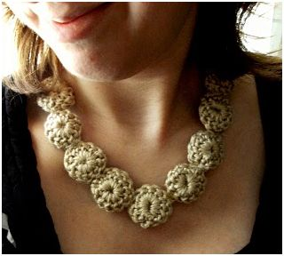 ... awesome yarn and thread crochet necklace tutorials to prove the point