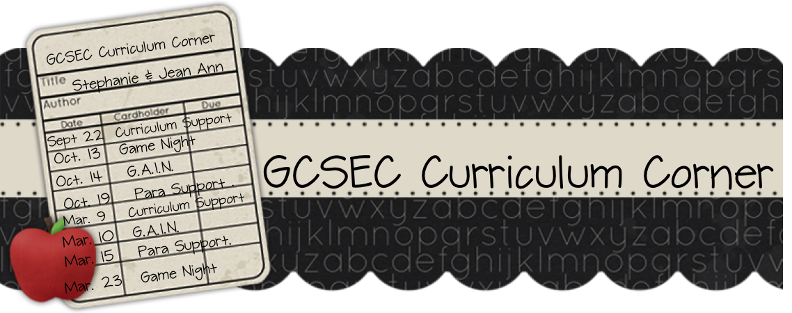 GCSEC Curriculum Corner