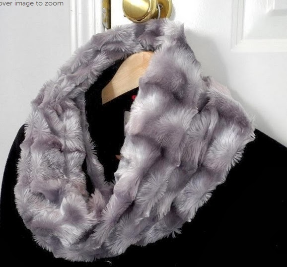 Easy Sewing Faux Fur Cowl Scarf Or Infinity Scarf Pattern