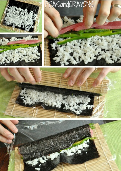 Homemade Sushi Tutorial!