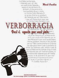Compre na Amazon.com meu Ebook: VERBORRAGIA