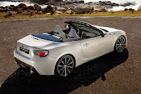 Toyota FT-86 Open Concept (2013) Rear Side 1
