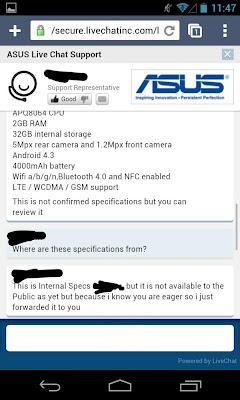Chat With Asus Rep regarding K009