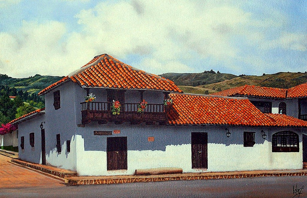 paisajes-con-pueblos-pintados-en-acuarela