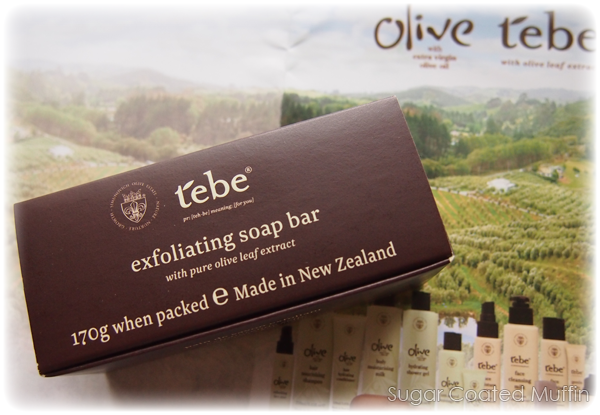 Tebe Exfoliating Soap Bar