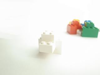 レゴ作品 レゴゴリラ白