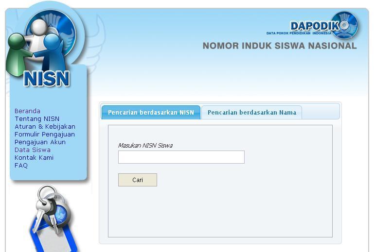 Cara Cek Data NISN Siswa Secara online