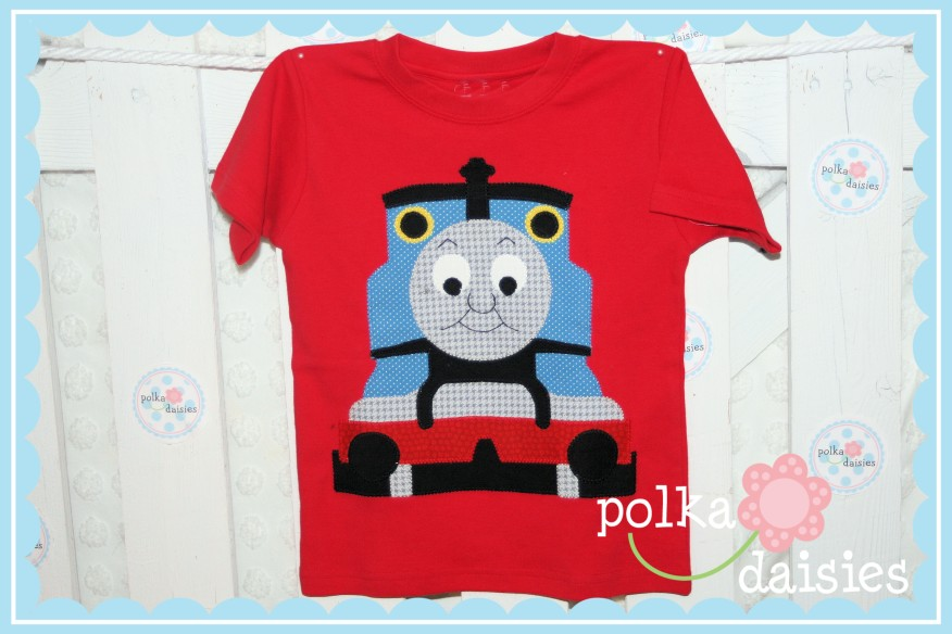 Polkadaisies Boutique Childrens Clothing And Gifts Polkadaisiescustom Thomas The Train Birthday Shirts
