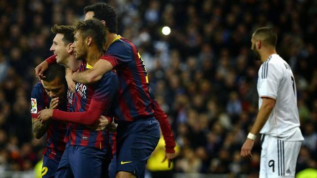 برشلونة يقلب الطاولة على الريال وينتزع فوزا ثمينا