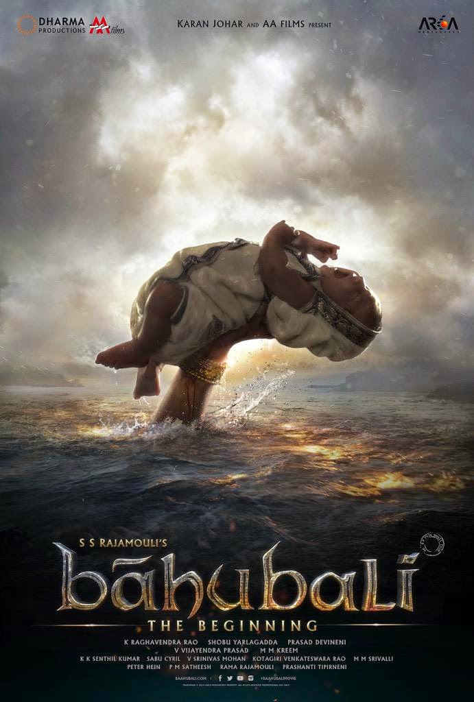 Baahubali New First Look HD Hindi Poster