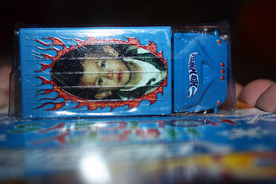 Customized Hot Wheels with picture