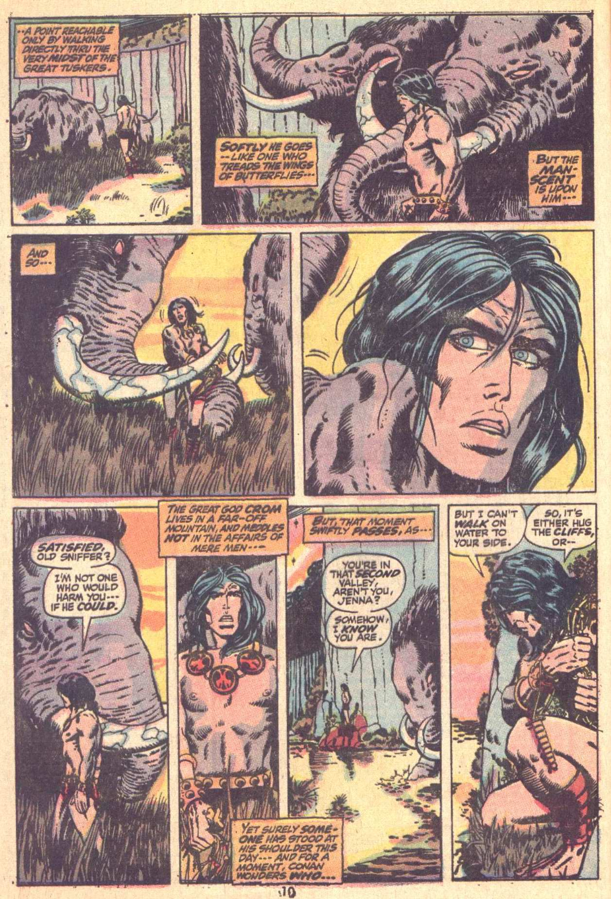 Conan the Barbarian (1970) Issue #9 #21 - English 8