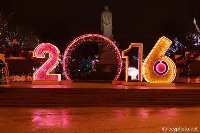ночная москва на новый год фото