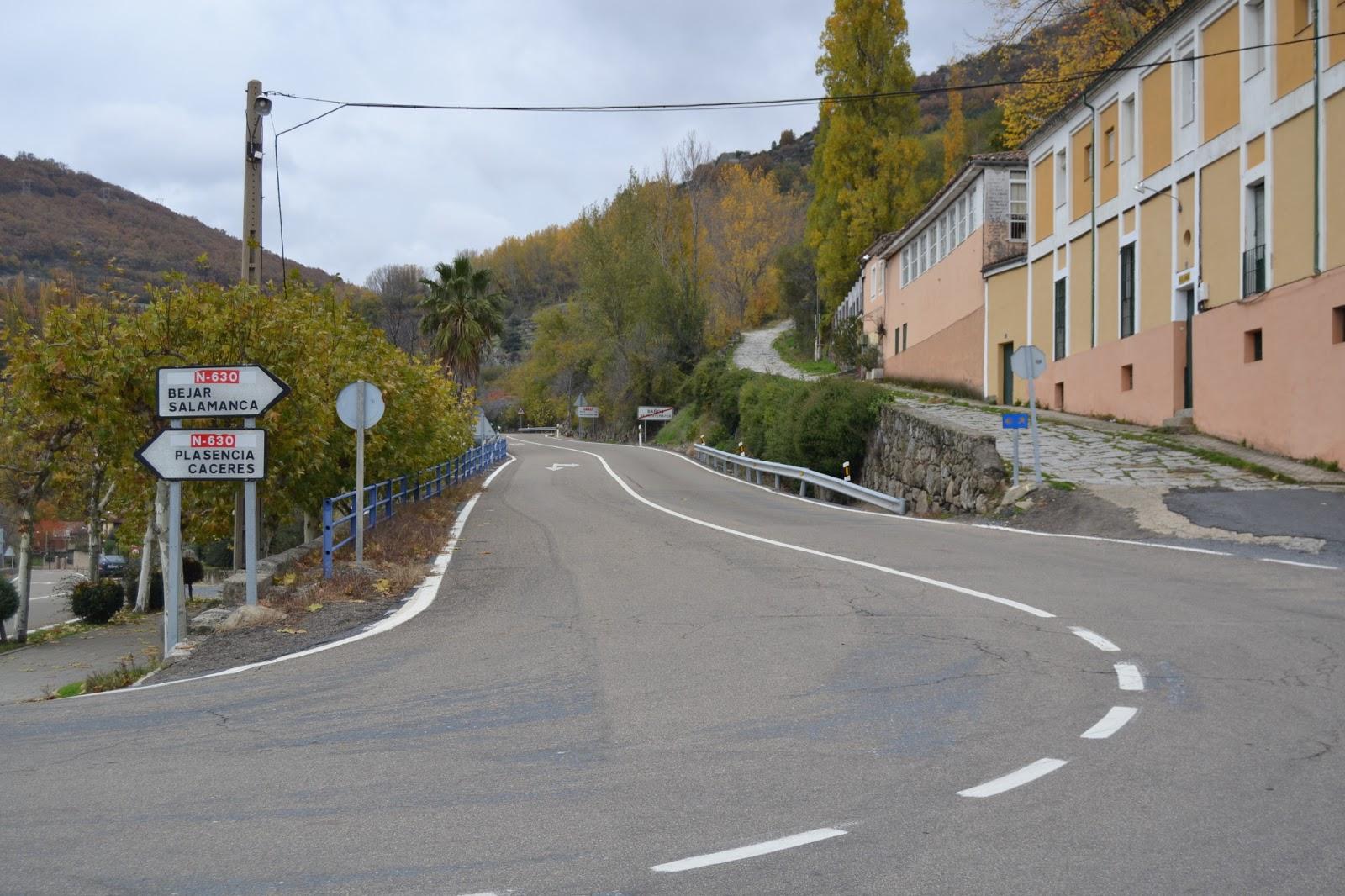 Con pan y vino etapa 28 aldeanueva del camino ba os - Banos montemayor ...