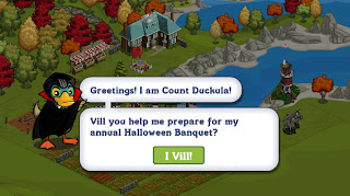 Count Duckula at FarmVille