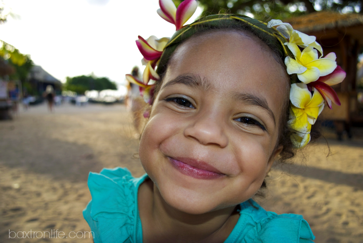 hawaiian princess palm leaf floral headband