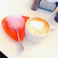 Cotton Candy Latte at Succotash in Kansas City