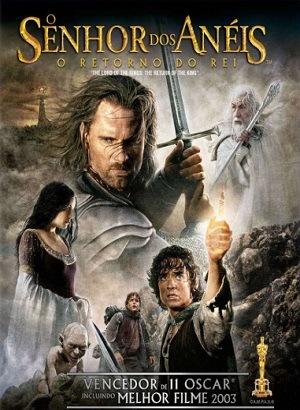 Filme O Senhor dos Anéis - O Retorno do Rei Versão Estendida 2003 Torrent