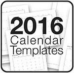 Calendar PDF Template