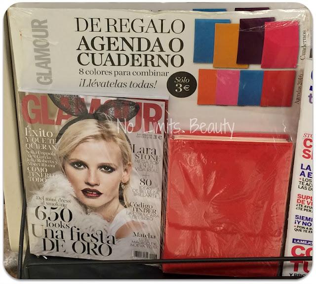 Regalos revistas diciembre 2015: Glamour