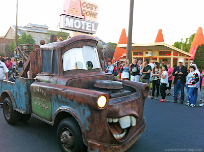 Mater Cars Land Carsland DCA Disney California Adventure Cone