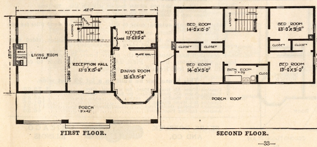 sears house model 124 floor plan
