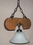 lámpara estilo campo