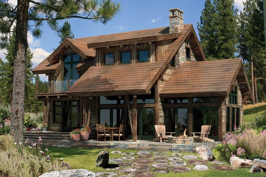 Modelos de casas dise os de casas y fachadas dise os de - Casas rusticas de lujo ...