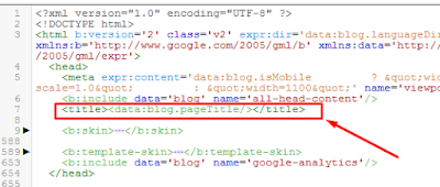 Title code that needs replacement