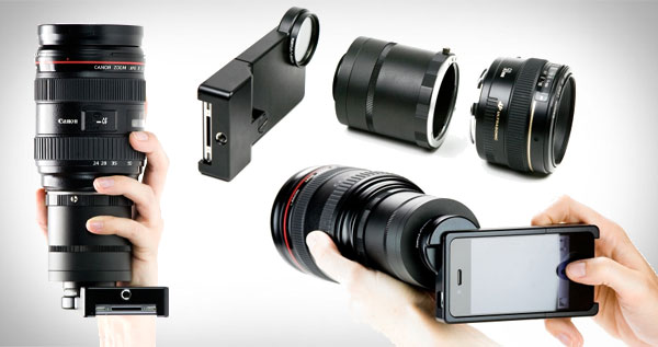 The iPhone SLR Mount (Open box) - Photojojo