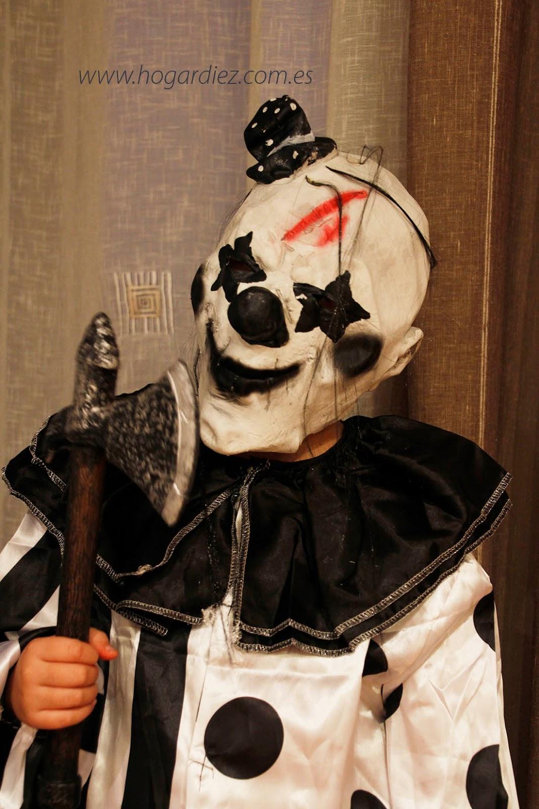 Halloween disfraz de niño