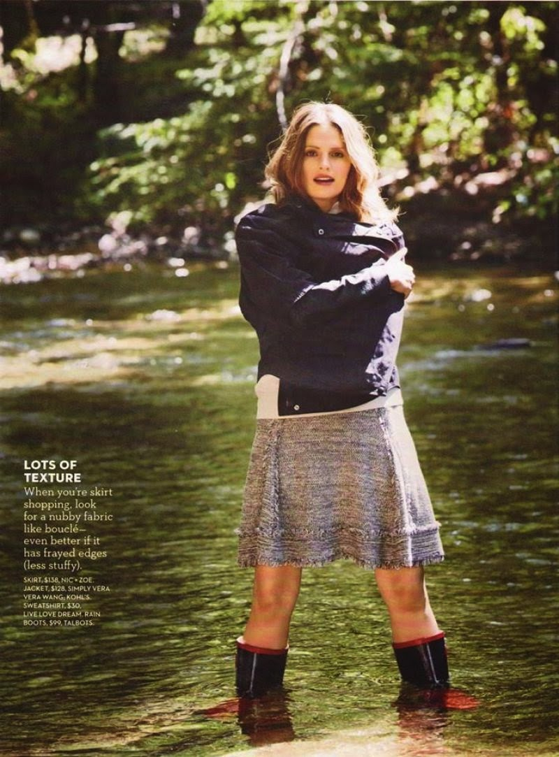 Stana Katic poses for Good Housekeeping Magazine September 2014