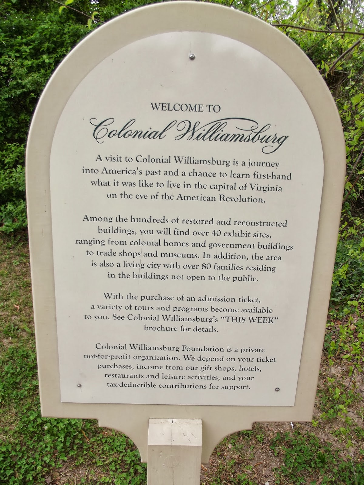 Discount coupons to colonial williamsburg