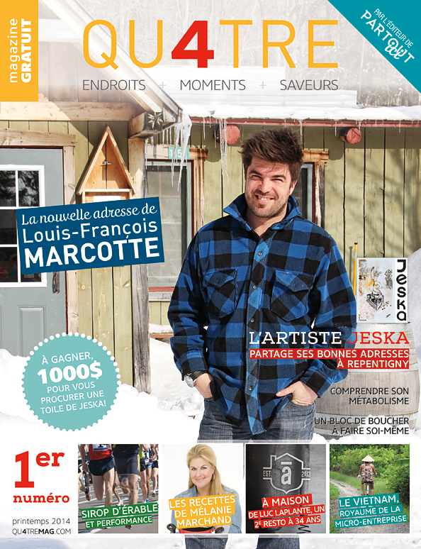 Magazine Qu4tre - Avril 2014