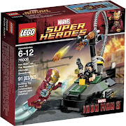 Lego Iron Man 3 sets that released in 2013