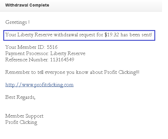 profitclicking payment proof