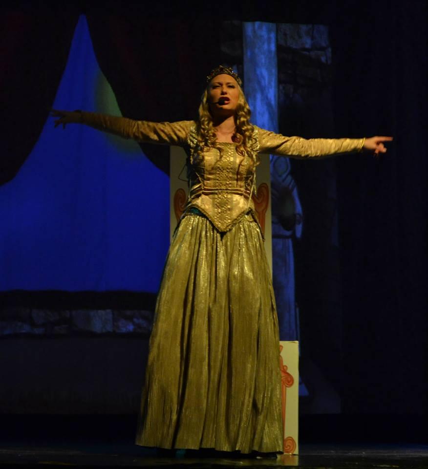 La Princesa Asustadiza