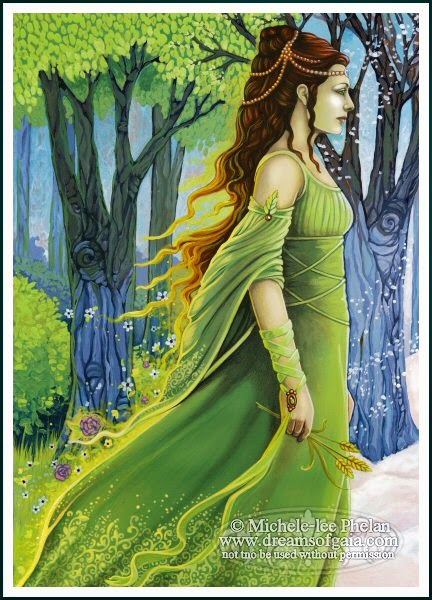 Pagan spoonie greek goddesses gaia rhea demeter Goddess of nature greek