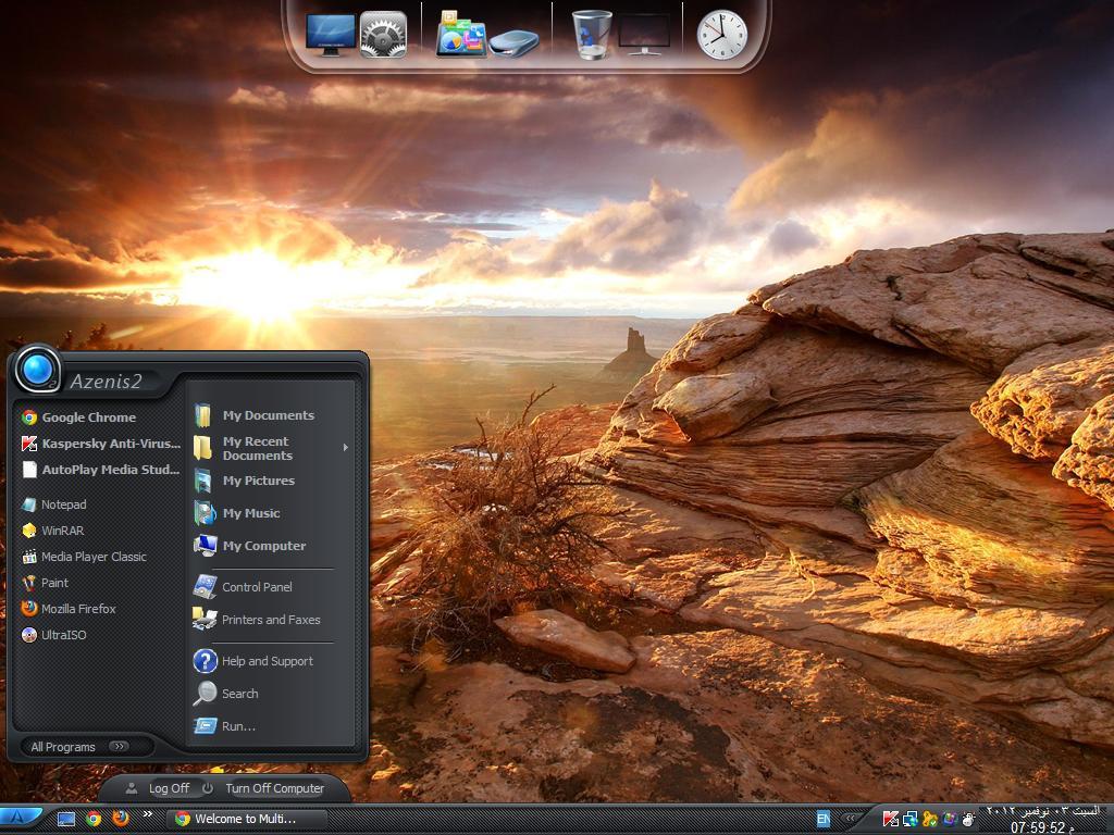Windows XP dream vista 2013 v.2.0