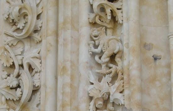 Un astronauta a la Catedral de Salamanca