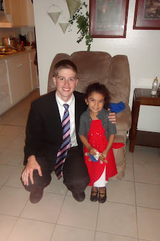 Elder Kinney with the cutest little girl ever!