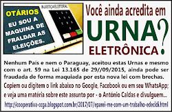 António Caldas denunciando as Fraudes nas Urnas Eletrônicas: