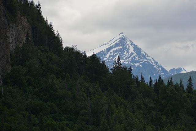 Chitina Alaska snow cap